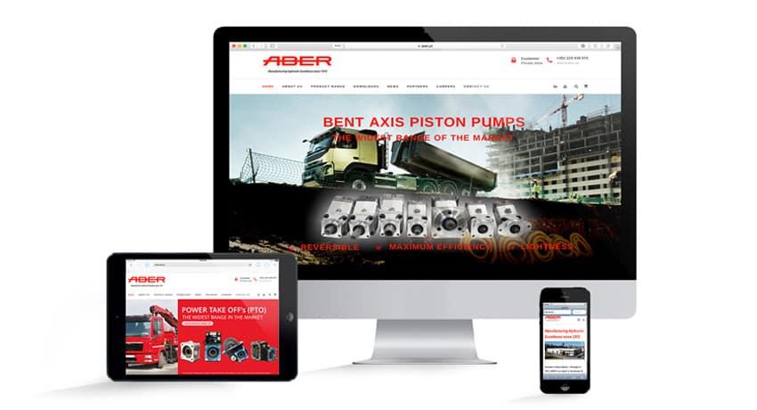 Novo WebSite da ABER
